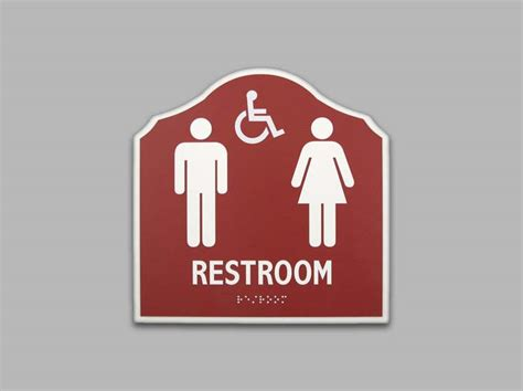 custom bathroom signs ada restroom signs ada bathroom signs unisex signs