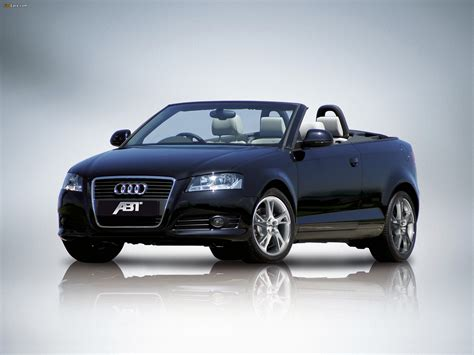 Abt Audi A3 by Abt Audi A3 Cabriolet 8pa 2008 2010 Wallpapers 2048x1536