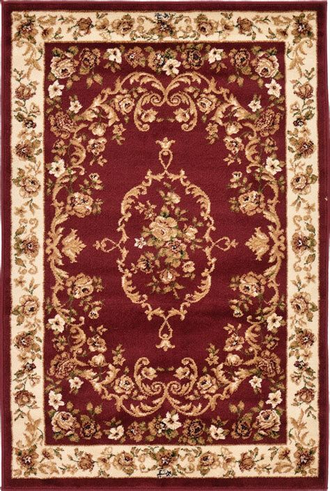 Vintage Story Carpet Classic traditional medallion area rug bordered mat set classic carpets ebay