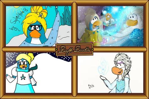 doodle dimension club penguin club penguin daffo doodles frozen club