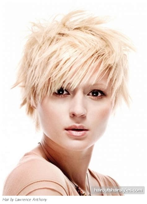 edgy haircuts for fine hair edgy layered hair style