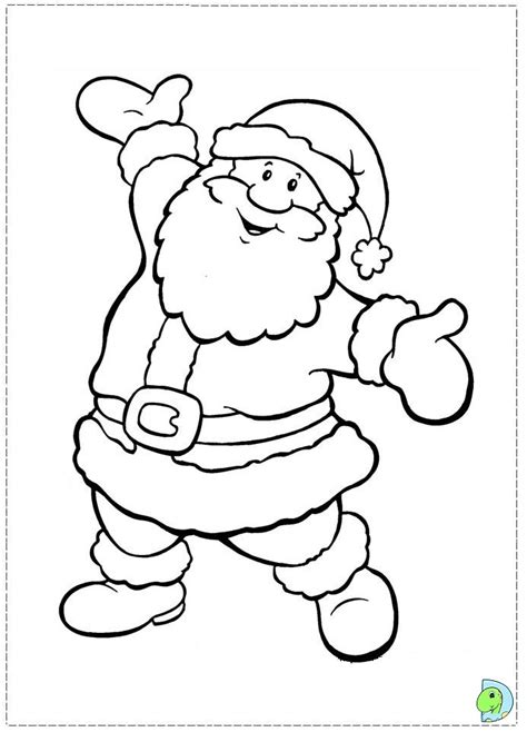 Free Santa Claus Face Coloring Pages Santa Clause Coloring Page