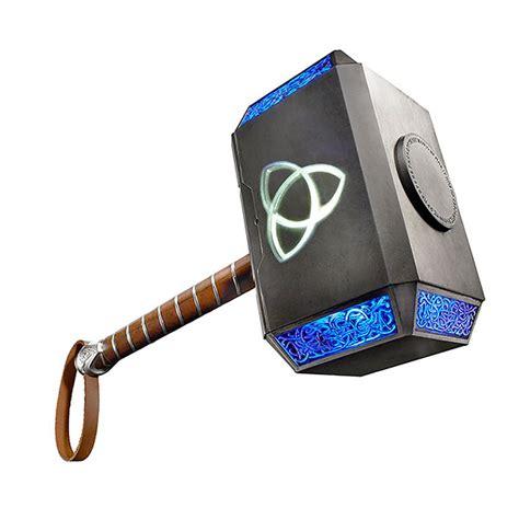 Hummer Of Thor marvel legends thor electronic hammer thinkgeek