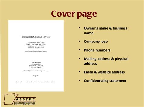 how to create a cover page for a resume how to write a business plan