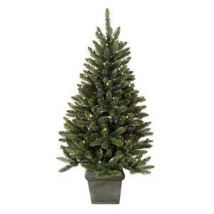 pre lit outdoor battery operated frosted fraser tree