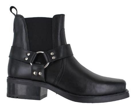 mens gringos harley leather biker cowboy western ankle
