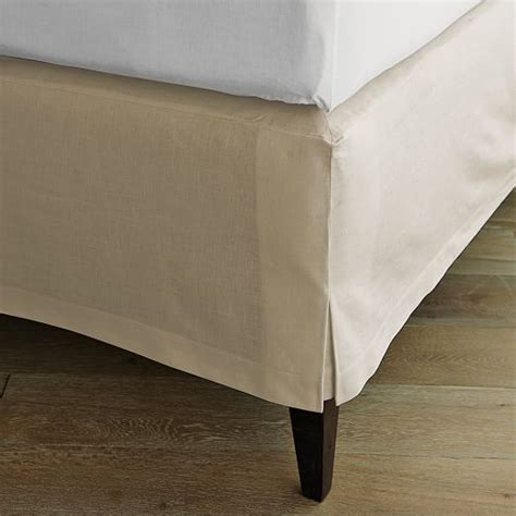 cotton bed linen sale linen cotton bed skirt west elm