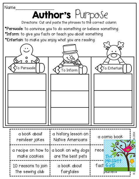 printable graphic organizer for author s purpose author s purpose worksheets wallpapercraft