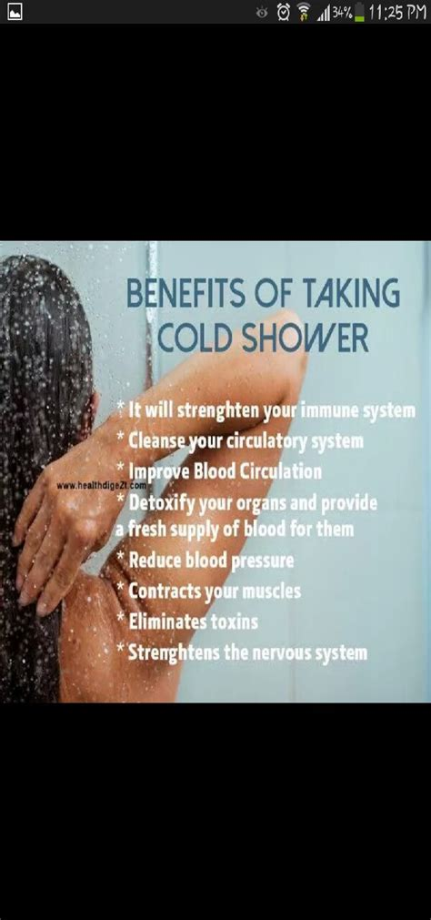Benefits Of A Shower by Benefits Of Taking Cold Shower Trusper