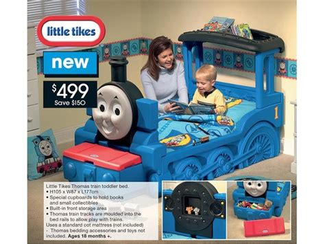little tikes thomas train toddler bed cute beds pinterest