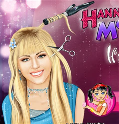 haircut girl games online hannah montana real haircuts game for girls 2012