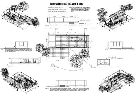 Farnsworth House Floor Plan Dimensions Best 25 Farnsworth House Plan Ideas Only On