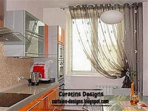 curtain designs for kitchen windows modern curtain designs ideas for kitchen windows 2014