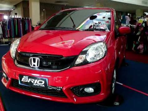 Honda Brio Satya E 2016 new brio satya e 2016 terbaru warna merah matic