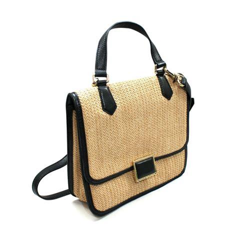 marc by marc straw satchel crossbody bag