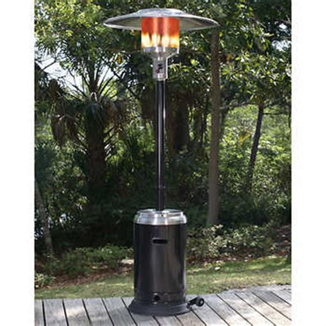 paramount 174 black and stainless steel size propane