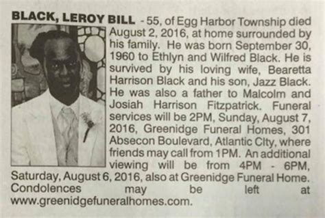 And Funeral Home Obituaries by Dead Gets Two Obituaries In Same Paper One From His
