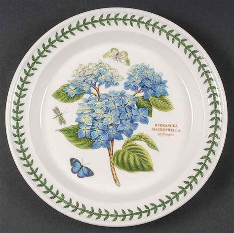 portmeirion botanic garden patterns portmeirion botanic garden hydrangea dinner plate 9561767