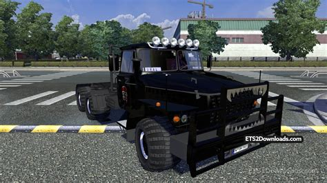 mods game euro truck simulator free download ets2 mods ural 43202 black edition