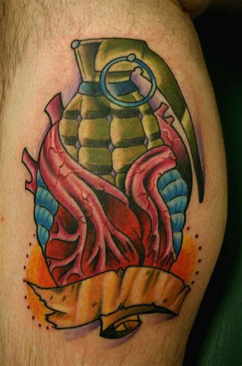 grenade tattoos designs ideas  meaning tattoos