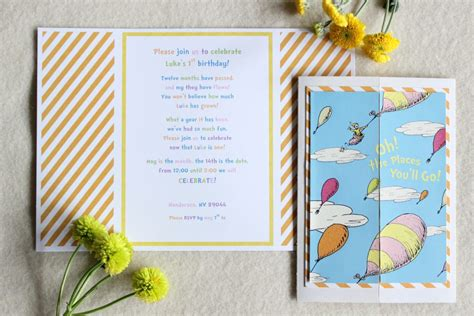 Oh The Places You Ll Go Baby Shower Invitations by Oh The Places You Ll Go Baby Shower Invitations Custom