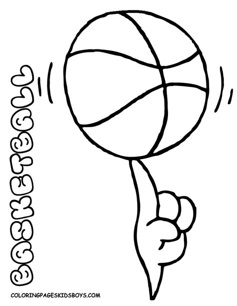 coloring pages book for kids boys smooth basketball coloring pages basketball free men