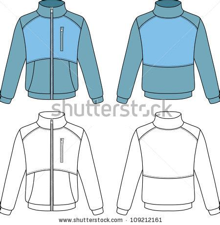 jacket template stock photos images pictures