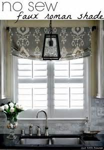 kitchen window valance ideas creative kitchen window treatment ideas hative