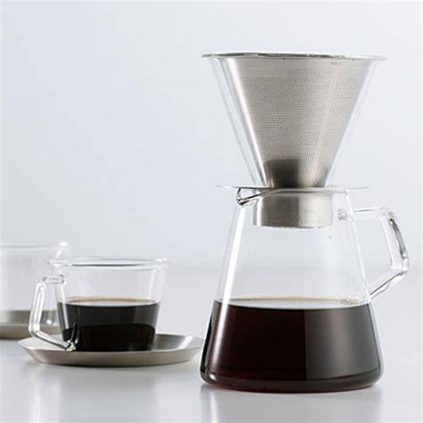 Carat Coffee Dripper & Pot   Kinto   Alternative Brewing