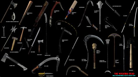Free Home Blueprints by Melee Weapons Image The Walking Dead Battlefront Mod For