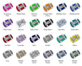 best color for braces the gallery for gt braces colors combinations