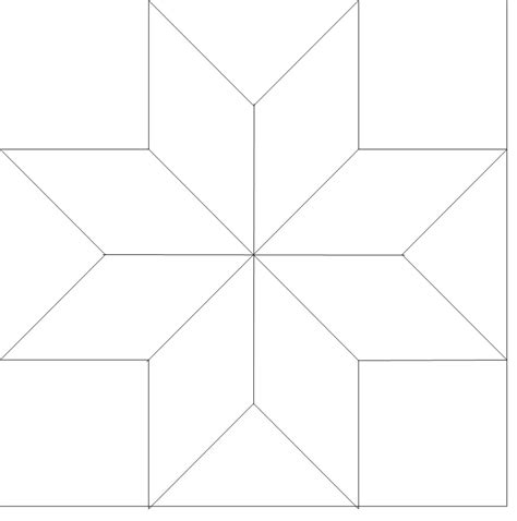 quilters templates 8 point outline 510 longarm quilt blocks