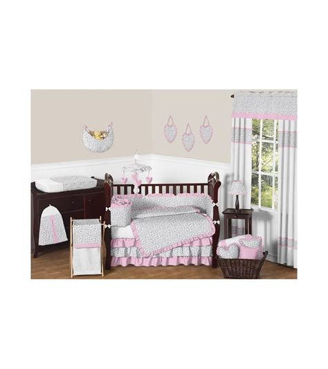 sweet jojo baby bedding sweet jojo designs kenya 9 piece crib bedding set