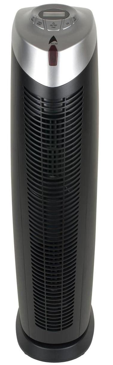 new atlas 9020 black tower air purifier with remote