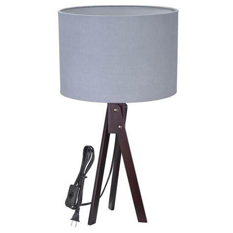 modern desk light modern tripod table desk floor l wood wooden stand home