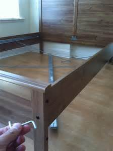 How To Disassemble Ikea Bed How To Disassemble An Ikea Aspelund Bed Frame Snapguide