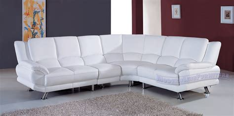 white leather contemporary sectional sofas modern white leather sectional sofa black white