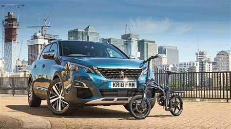 Peugeot Bike For Sale by Peugeot Electric Folding Bike Now On Sale In The Uk