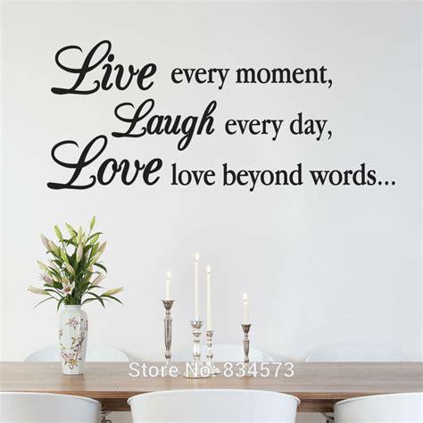 aliexpress com buy live laugh love inspirational wall