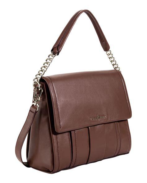 cole haan ainsley shoulder bag brown in brown null lyst