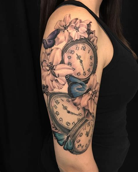 pocket watch tattoo meaning 80 timeless pocket ideas a classic and