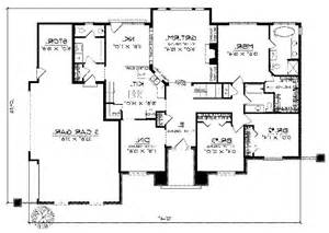 crandall cliff one story home plan 013d 0130 house plans single story house plans with photos
