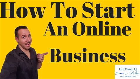 how to start an business free coach lj aviles