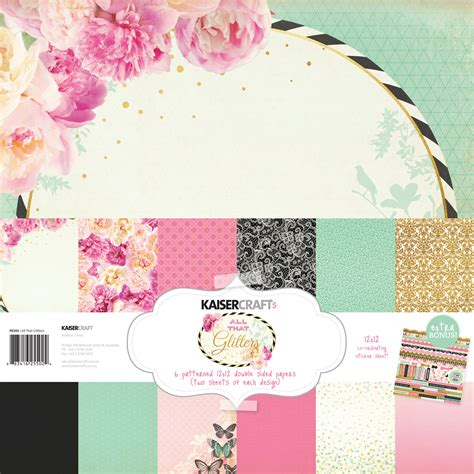 kaiser craft paper kaisercraft wanderlust betsy s couture shine bright