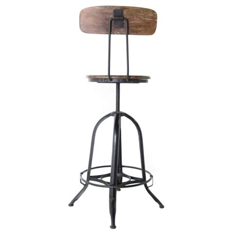 wooden swivel bar stools with back furniture black iron bar stool with brown wooden back and