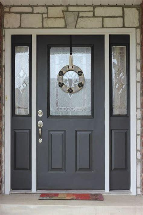 exterior door paint  sherwin williams dengarden