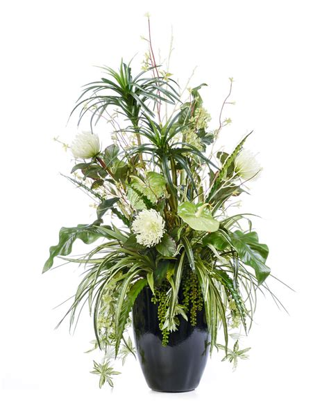 Island Elegance gorgeous island elegance silk flower arrangement at petals