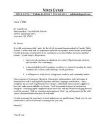 Start Cover Letter by Cover Letters Chapter 4 Forum 171 No Educator Left