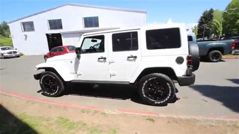 white jeep sahara 2015 2015 jeep wrangler unlimited altitude white fl686122