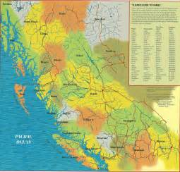 map bc canada bc nations map bcrobyn